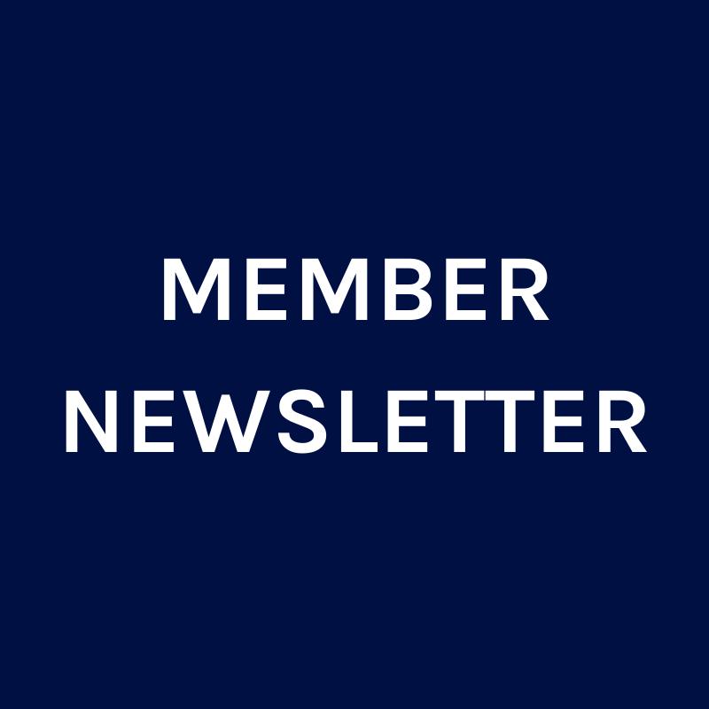 Member Newsletter